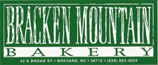 Bracken Mountain Bakery Brevard NC